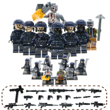 WW2 MinI Brick Russia Germany US Army Military Building Blocks With Many Weapons And Soilder Set Sale&Wholesale Toy For Children