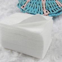 1800pcs Acrylic UV Gel Tips Soft Makeup Cotton Nail Polish Remover Cleaner Makeup Wipes Pads absorbent cotton Storage box(China)