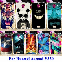 Soft TPU & Hard PC Cell Phone Cases For Huawei Ascend Y360 Y3 Y3C Y336 Y336-U02  Housing Bag Skin Sheath Shield Back Shell Cover