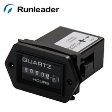 RL-HM004 Mechanical DC 12-40V Hour Meter for Tractor ATV Jet Ski Yacht marine farm machinery industrial equipment(China)