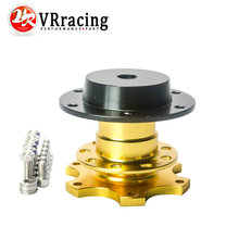 VR RACING - New Universal style steering wheel quick release Boss kit (Gold color) VR3859G