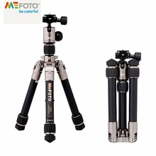 Brand New MeFOTO Classic Aluminum Daytrip Travel Tripod Kit 4 Colors 25-60.5cm Mini Tripod for SLR DSLR camera(China)
