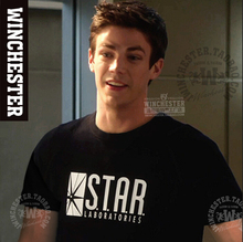 Hot New The Flash STARLAB Summer Crew Neck Various Styles CottonT-shirt Free Shipping