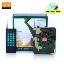 Free Shipping Camouflage Remote Control Outdoor Hunting Decoy Bird Caller Sound Speaker Voice Amplifier 888pcs Bird Songs NEW