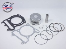 70MM Piston Ring Gasket Kit VOG LINHAI YP VOG 260cc Tank Touring JCL Buyang Gsmoon ATV Buggy Scooter Parts(China)