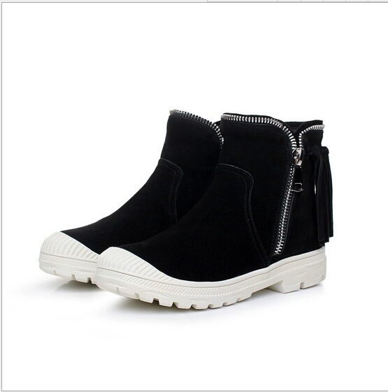 2016 New high help flat leisure l tassel female boots womens shoes for womens shoes<br><br>Aliexpress