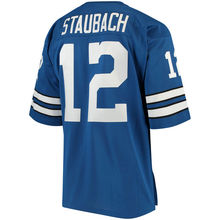Men's Roger Staubach Throwback jersey(China)