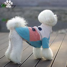 Pet clothes another sailor suit dog clothes Tactic new winter clothes(China)