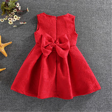 Winter Girls spring Dresses red Kids Dresses For Girls Kids Formal Children Dresses Teenagers Party Clothes Cheap AA518