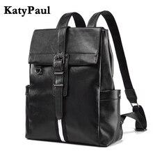 Рюкзак кожаный бизнес 15 дюймовый ноут стул-рюкзак купить