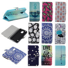 2015 Folio Leather Case For Samsung Galaxy S3 III i9300 Phone Bags Cases Pineapple Elephant Chrysanthemum Sunflower Blue Sky