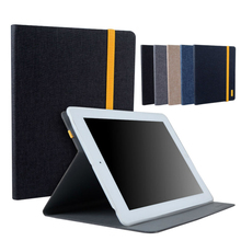 9.7 inch Tablet Case For iPad 2 3 TPU Jean Leather Case Cover Shockproof Protective Stand Smart Fundas For iPad 2 3 iPad2 iPad3(China)