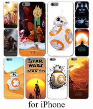 Star Wars The Force Awakens BB-8 Droid Hard Case Cover for iPhone 7 7 Plus 6 6S Plus 5 5S SE 5C 4S Case Cover