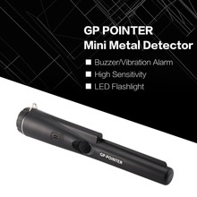 Handheld Mini Pro Pinpointing Metal Detector GP POINTER Gold Silver Coin Treasure Finder Hunting Search Vibration Alarm2019