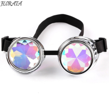 Vintage Steampunk Goggles Glasses Welding Cyber Punk Gothic Cosplay Beautiful Lenses Steampunk Goggles(China)
