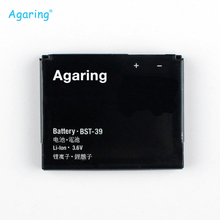 Agaring BST-39 New Replacement Battery For Sony W380c W508 W908 W910i T707 W508 W910 R300 W20 BST39 Authentic Batteries 920 mAh