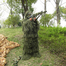 Ghillie-Suit Sniper-Set-Kits Army Hunting Military Tactical Woodland 3D for Universal