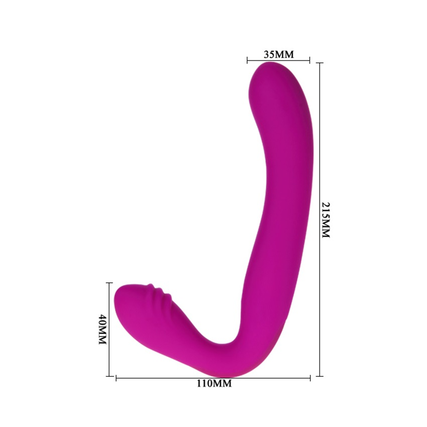 silicone 30 speed vibrations rechargeable silicone Strapless Strap On dildo penis anal plug sex toy for couple lesbian women<br>