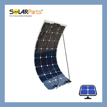 Solarparts 1*100W solar panel  high efficiency solar cell  modules charger baterry  fan pump lanten for BoatGolf cart//Yachts