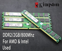 original Kingston 2GB DDR2 PC2-6400 800MHz 667Mhz Desktop RAM PC DIMM Memory RAM 240 pins For AMD for intel 2g 4g 800 667