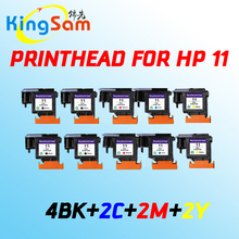 10x for HP 11 C4810A C4811A C4812A C4813A Printhead for hp11 1000 1100 1200 2200 2280 2300 2600 2800 CP1700 100 500 9100 9120(China)
