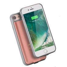 3000mah Extra Pack Phone Battery Charger Case For Iphone 6 6s 7 Power Bank Case Phone Charger Cover Cases 4.7 inch(China)