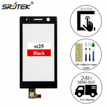 srjtek For Sony for Xperia U ST25i ST25 Touch Screen Digitizer Front Glass Touch Panel With Sensor Screen Replacement+fred Tools
