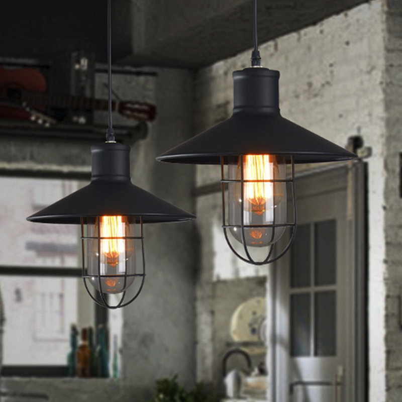 Modern Brief Bar Lamps Classic Loft Rustic BirdCage Pendant Lamp Pendant Light Vintage Bird Cage Decoration Lamp<br>