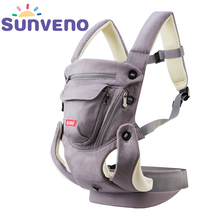SUNVENO Ergonomic Baby Carrier Breathable Front Facing Infant Baby Sling Backpack Pouch Wrap Baby Kangaroo For Baby 0-12 Months(China)