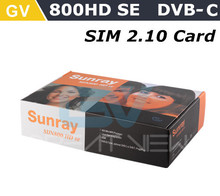 Sunray 800HD se-C Cable Version With USB WIFI ,800 HD SE with Cable Tuner , 800hd se-c Cable Receiver Free shipping DHL