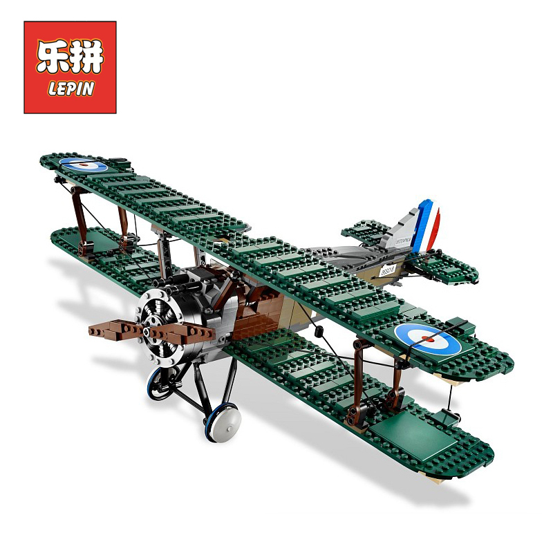 Lepin Technic 21021 Creative Series the Camel Fighter DIY Set Model Plane Building Kits Blocks Bricks Children Toys Christmas <br>