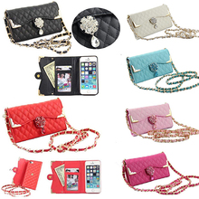 Women's Faux Leather Handbag Wallet Purse Pouch Phone Storage Cover Case