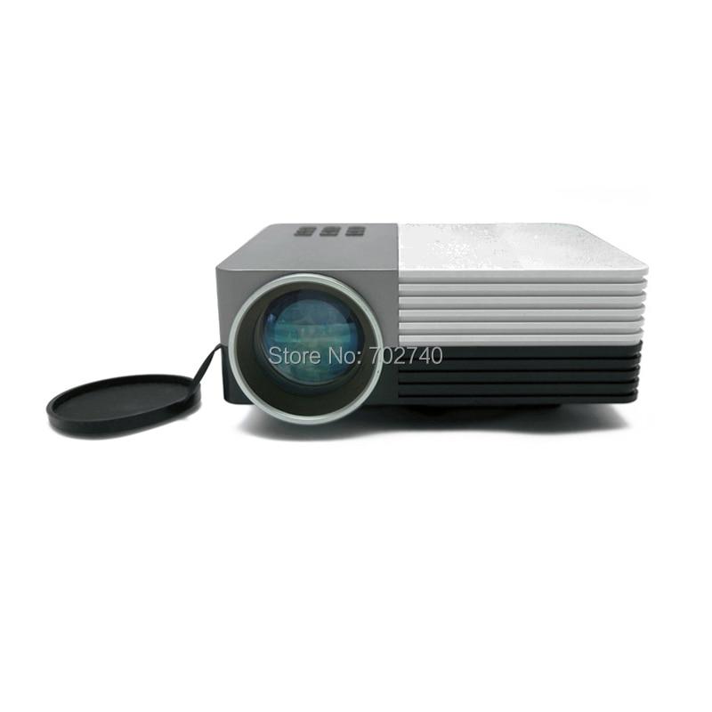 New 80 Lumens WXGA 480x320 Portable Digital Video HDMI USB SD AV LED Projector<br><br>Aliexpress