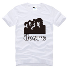 Newest Funny Rock Band The Doors Music Mens Men T Shirt Tshirt 2017 New Short Sleeve O Neck Cotton Casual T-shirt Tee