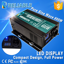LED Display Off Grid Pure Sine Wave Solar Power Inverter 600W DC to AC Converter Transformer Household System/Car Power Inverter(China)