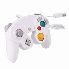 White Wired Controller for Nintendo Gamecube Console Handheld For NGC Gamepad Control