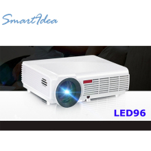SmartIdea Hot Brightness 5500Lumens Long life LED Full HD LED home cinema TV projector 3D lcd Multimedia video game Projectors