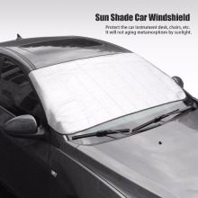 Window Foils Windshield Sun Shade Car Windshield Visor Cover Block Front Window Sunshade UV Protect Car Window Film 150*70cm