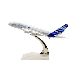Free Shipping,A380 Airbus,14cm,metal airplane models,airplane model, airbus prototype machine chiristmas gift