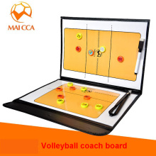 High Quality MAICCA Volleyball Coach Board Volleyball Traning Command Board Volleyball Coaching Book Set With Pen Tactical Board(China)