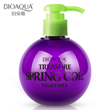 BIOAQUA Hair Care Hair Styling Elastin Straight Hair Curly Hair Fluffy Stereotypes Conditioner Repair Moisturizing(China)