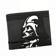 Free Shipping Comics the Heros Iron Man Thor/Captain America/Star Wars 3D Purse Logo Credit Card Holder Cartoon Wallet