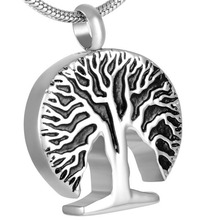 MJD8313  Discount !!! Big Sale 50% Off Classic Tree Ashes Urn Pendant Memorial  (pendant only)