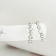 Hot New 2017 Fashion Korean silver color Letters Glossy YES NO Stud Earrings Jewelry Accessories Wholesales