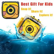 720P Waterproof Sports kids camera HD Camcorder Holiday Learn Camer Toy for Children brinquedos educativos #TX(China)