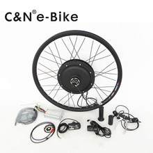electric road bicycle 750w DIY conversion kit brushless motor kit with LED display