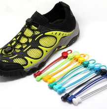 New 3mm Diameter 100cm Long Solid Color Locking Shoe Laces Elastic Shoelaces Shoestrings Running/Jogging/Sports Fitness