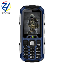 ZOYU D9800 Mobile Phone Dual SIM Card MP3 Playback Flashlight 2.4 Inch Loud Speaker Long Standby Rugged Cellphone