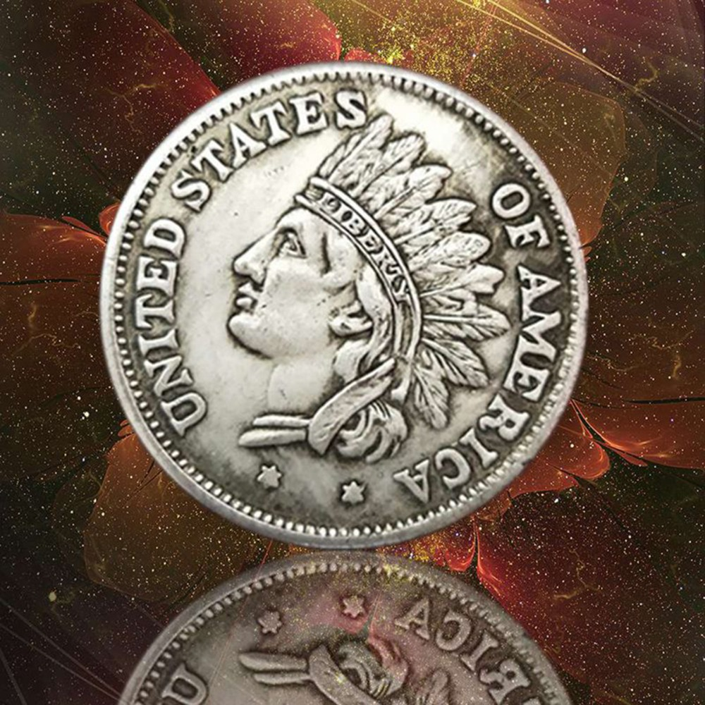1851 United States of America Indian Head Portrait Commemorative Coin Collection