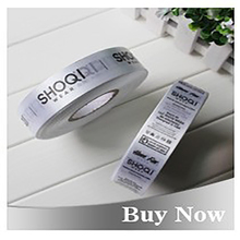 Free Shipping Quantity NoN- Woven Labels Clothing Labels Garment Label Personalized No-Woven Logo Min Order